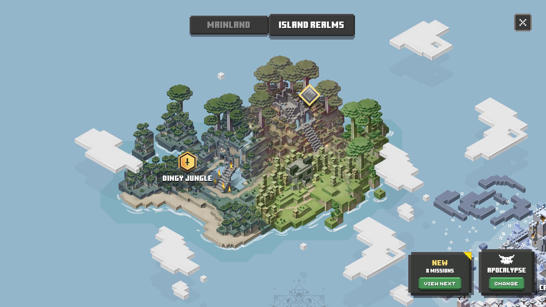 Comment obtenir le DLC Jungle Awakens pour Minecraft Dungeons
