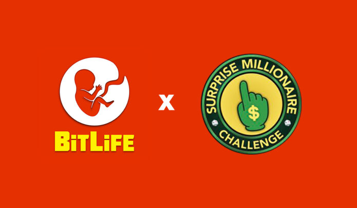 How to complete BitLife Surprise Millionaire Challenge