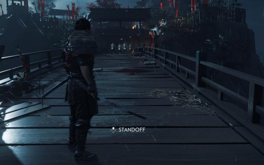 Ghost of Tsushima standoff comment obtenir cinq victimes