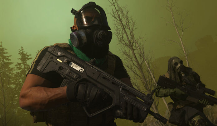How to survive the gas in Call of Duty Warzone