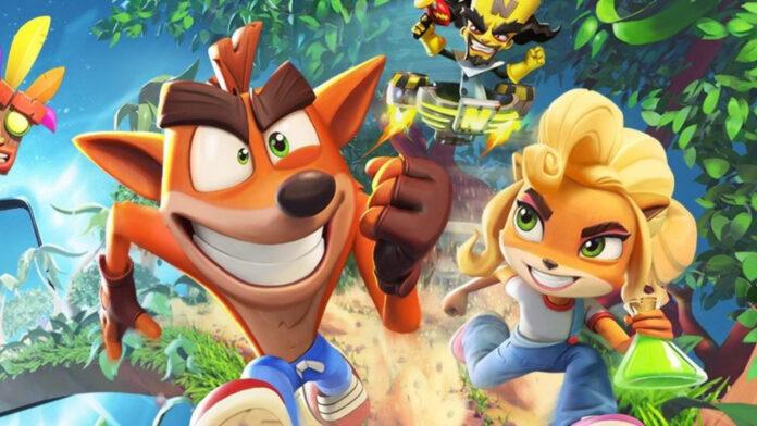 Crash Bandicoot obtient un nouveau jeu mobile des créateurs de Candy Crush Saga