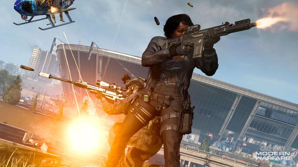 Modifications du stade de la carte de la saison 5 de Call of Duty Warzone