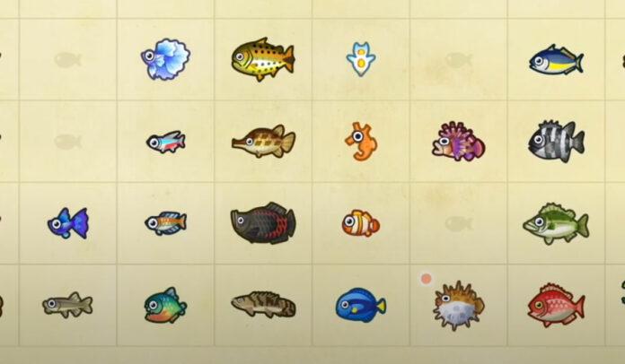 july fish animal crossing new horizons
