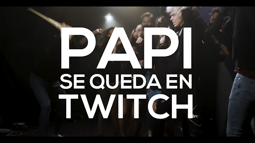 Papi Se QUeda en Twitch
