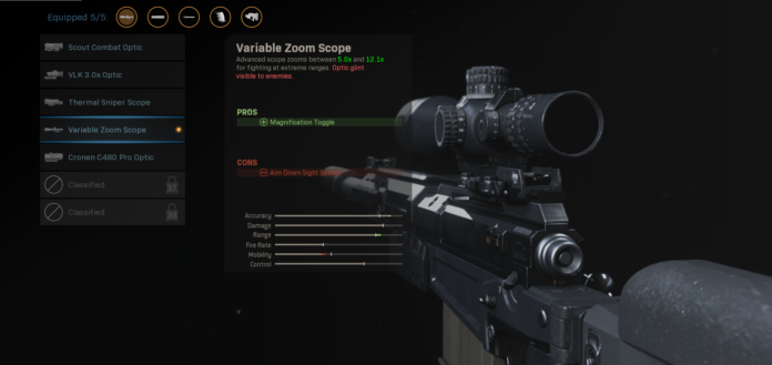 How Scope Glint Works in Warzone