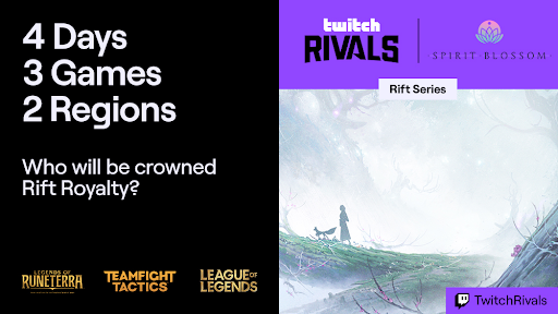 Twitch Rivals Rift Series North American Teams Format schedule how to watch