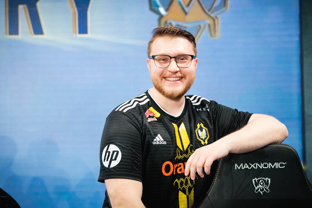 Jactroll Origen soutient la ligue des légendes LoL Renault Vitality