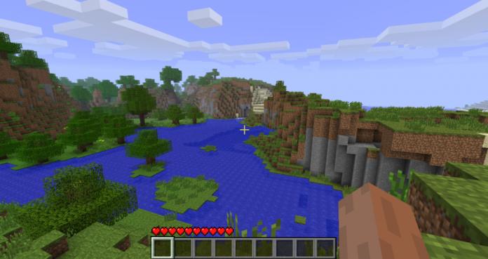 La graine du monde de fond d'écran de titre de Minecraft a finalement été découverte