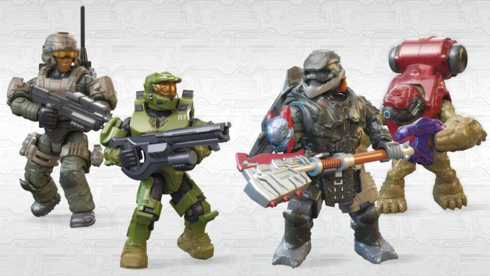 Halo Infinite Toy Set Story Mega Bloks