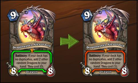 Dragonqueen Alexstrasza nerf