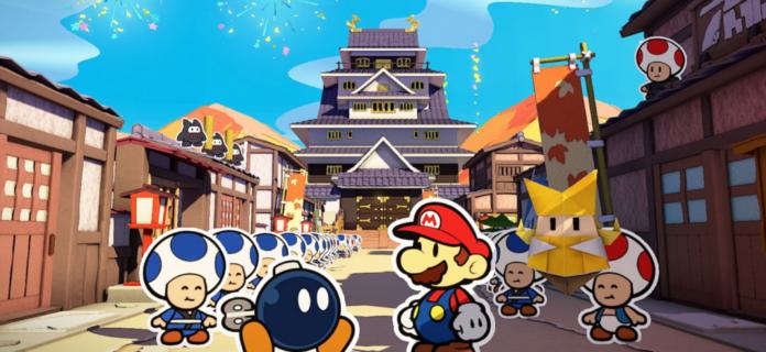Les fans découvrent l'incroyable œuf de Pâques NSFW dans Paper Mario: The Origami King
