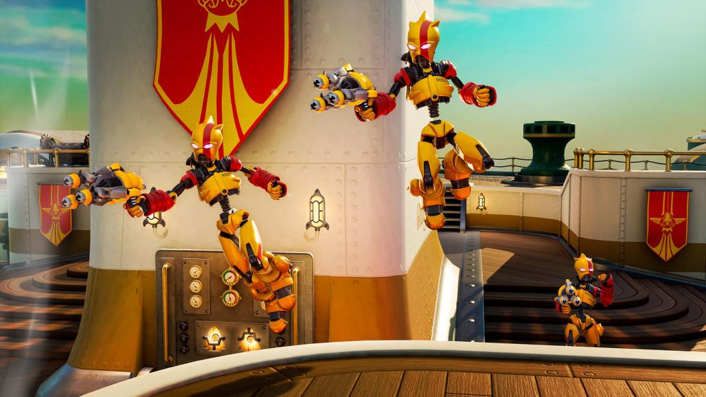 Les modes de jeu de Rocket Arena cartographient les héros