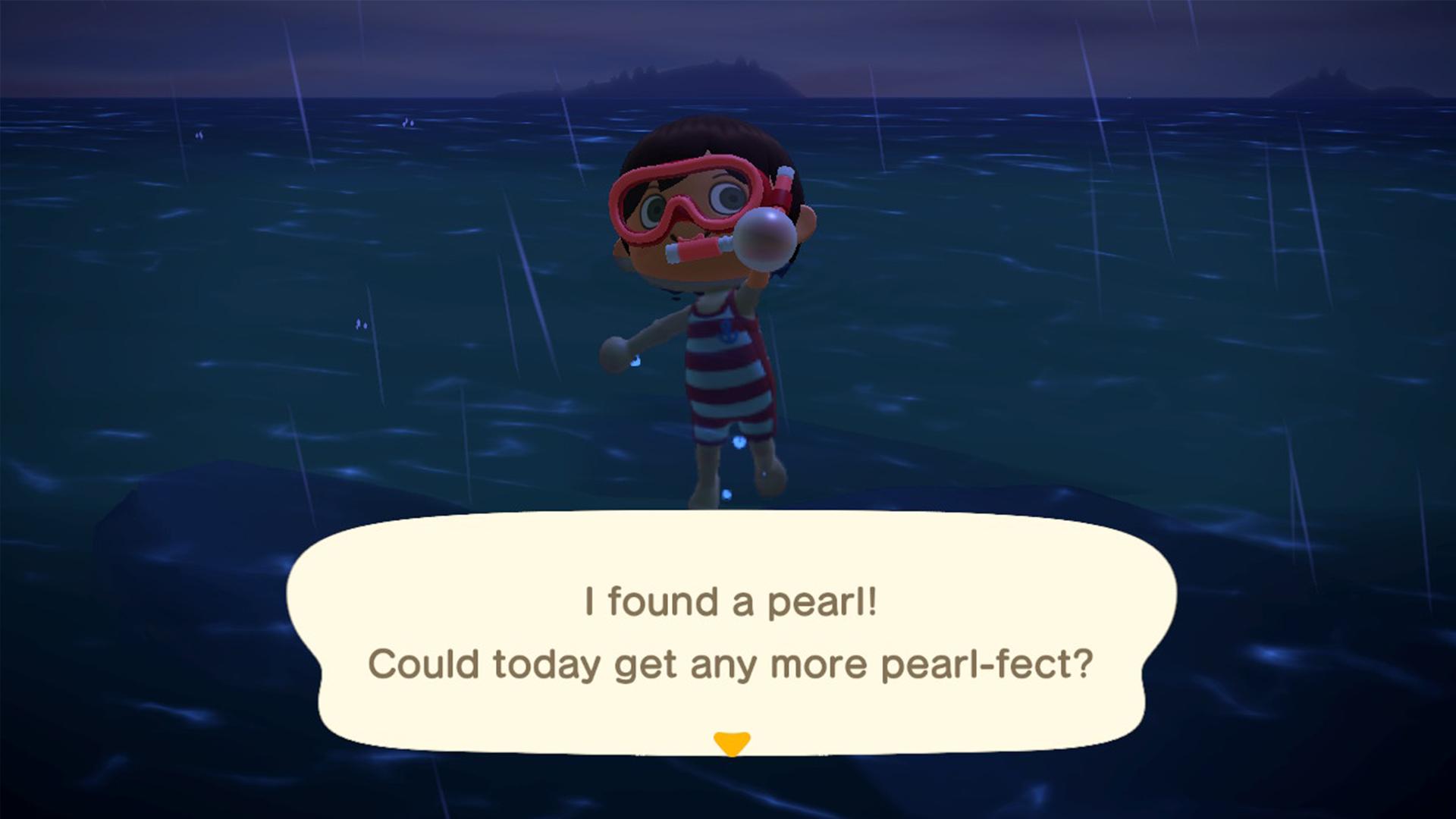 Où trouver des perles dans Animal Crossing New Horizons