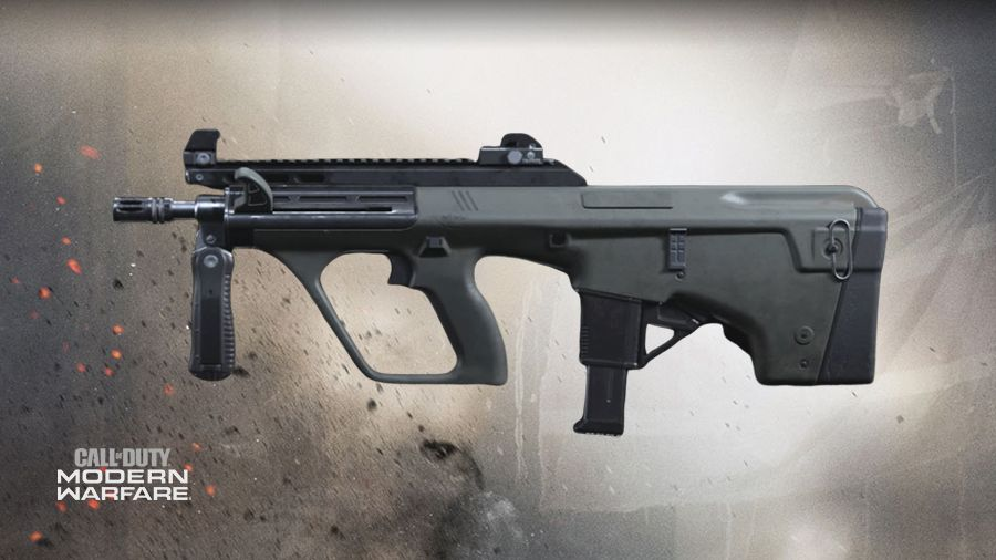 Aug SMG Call of Duty