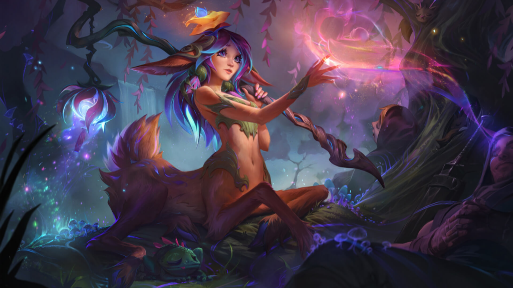 Lilia la timide Bloom League of Legends Hero suivante