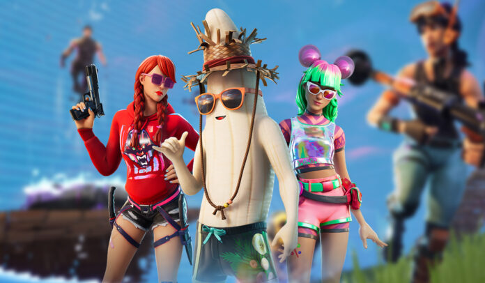 Skins and cosmetics from Fortnite 13.30