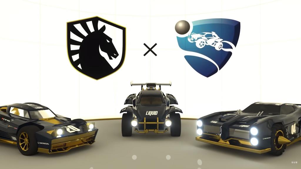 Team Liquid Rocket League mousesports vitesse et fruité Kuxir