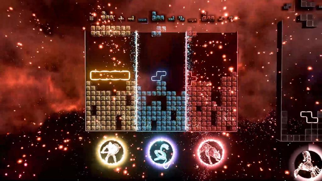 Tetris Effect Xbox Series X, multijoueur Tetris Effect, Tetris Effect connecté