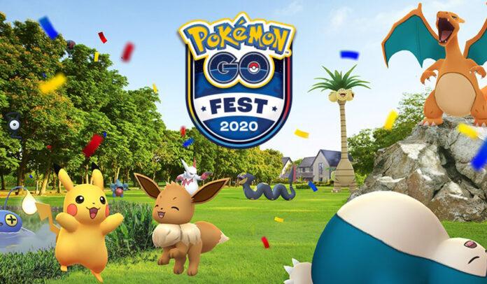 All Pokemon from Pokemon Go Fest 2020