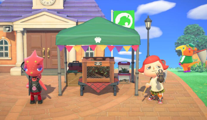 Animal Crossing New Horizons Bug Off Tournament Trophies and  Rewards
