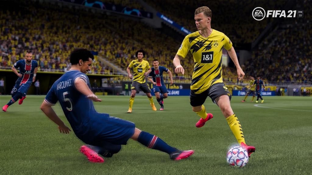 FIFA 21 nouveaux mécanismes de dribble