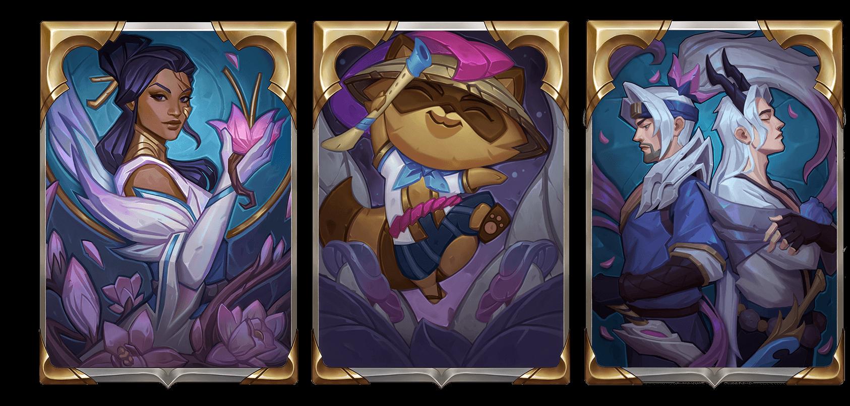 Dos de cartes Legends of Runeterra Spirit Blossom