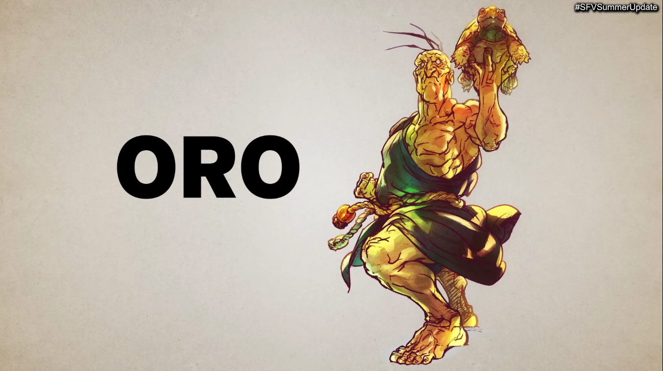 Oro Street Fighter V