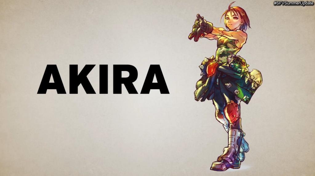 Akira Street Fighter V