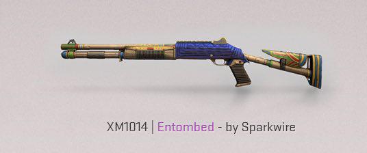 XM1014 Emtombed CS: GO peaux de fusil fracturées