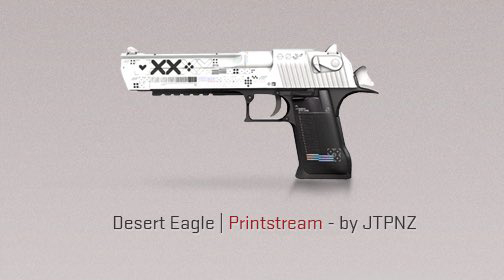 Desert Eagle Print Stream CS: Go mise à jour le 7 août