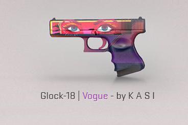 Glock-18 Vogue classifié cs; mise à jour le 7 août