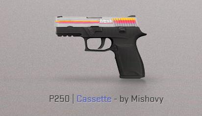cassette p250