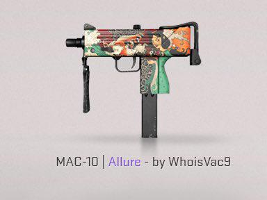 MAC-10 Attrait offensive mondiale