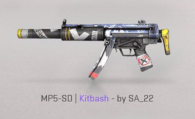 kitbash mp5-sd