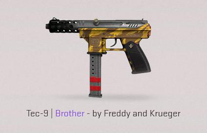 Armes de contre-attaque Tec-9 Brother