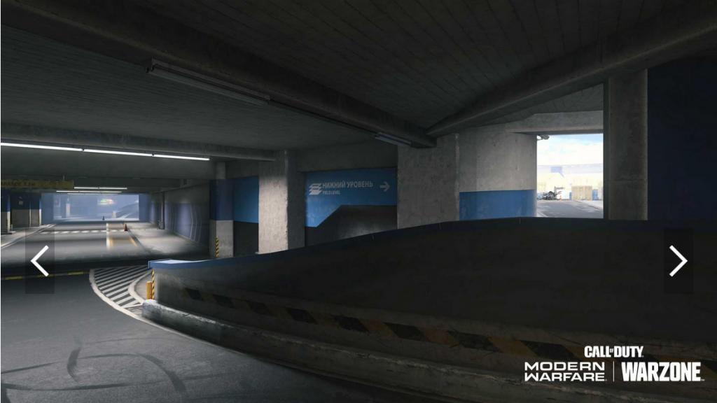 parking stade warzone