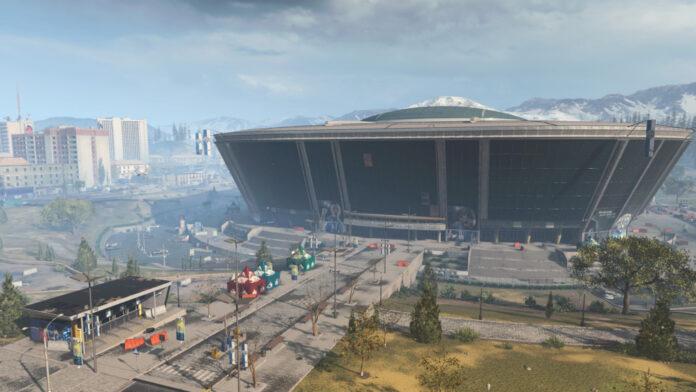 Stade de Verdansk dans Call of Duty: Warzone