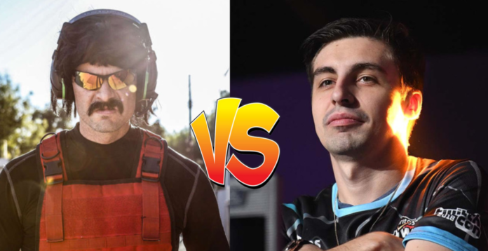Dr Disrespect vs Shroud: retour au streaming