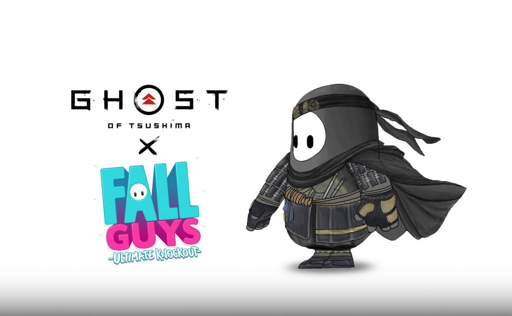 Ghost of Tsushima Fall Guys Ultimate Skins Skins Modèles