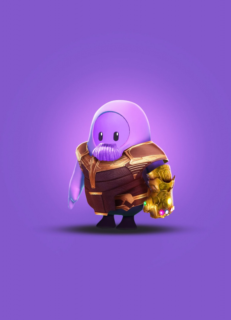 Skin de Thanos Fall Guys
