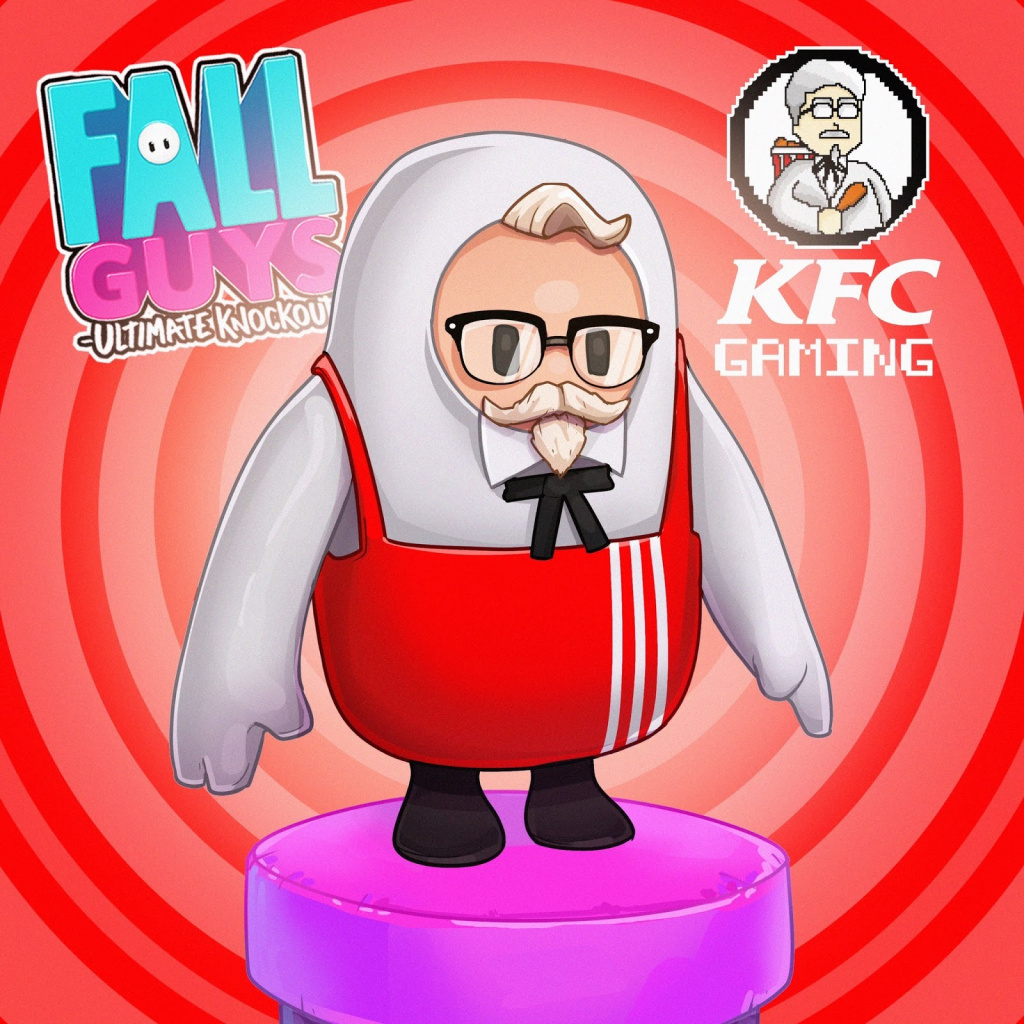 Colonel Sanders KFC Fall Guys