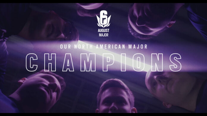 DarkZero Esports bat TSM pour remporter Rainbow Six Siege NA August Major