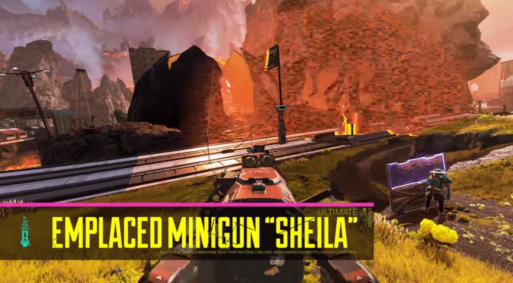 Apex Legends Rempart Capacités Shiela
