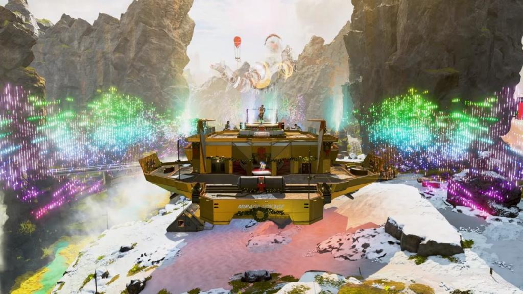 Apex Legends Mirage Party
