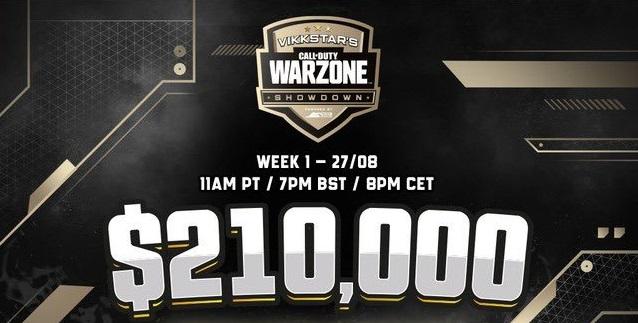 Vikkstar Warzone Showdown Comment regarder le calendrier du format de la cagnotte