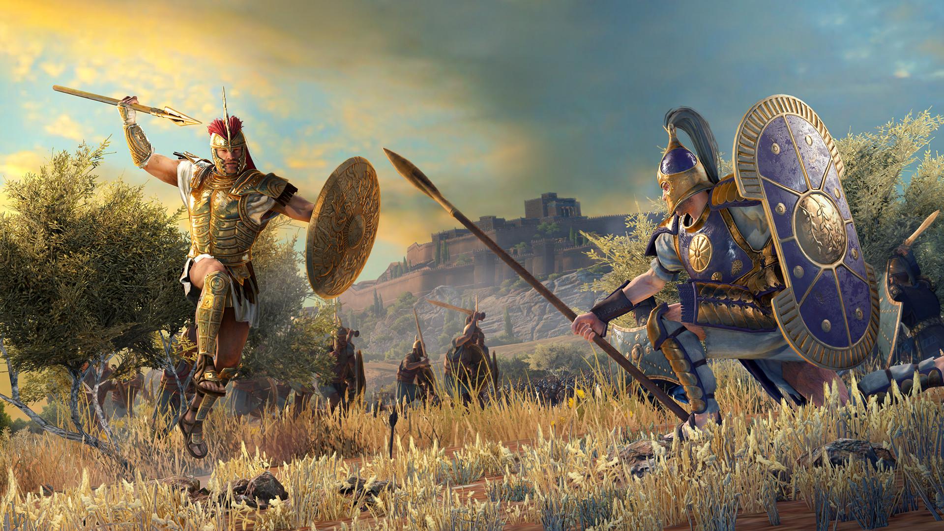 A Total War Saga Troy est-il multijoueur?