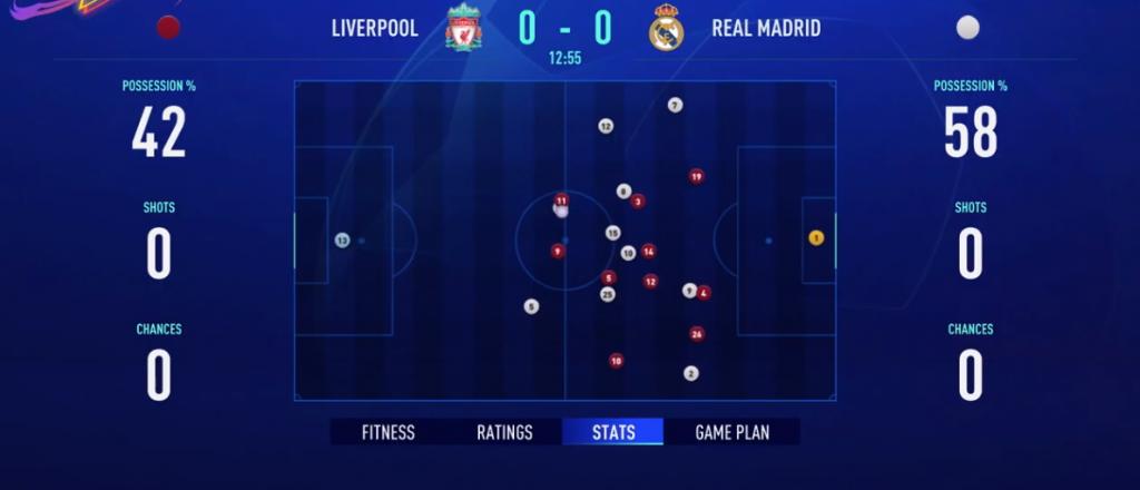 Simulateur de match interactif en mode carrière FIFA 21