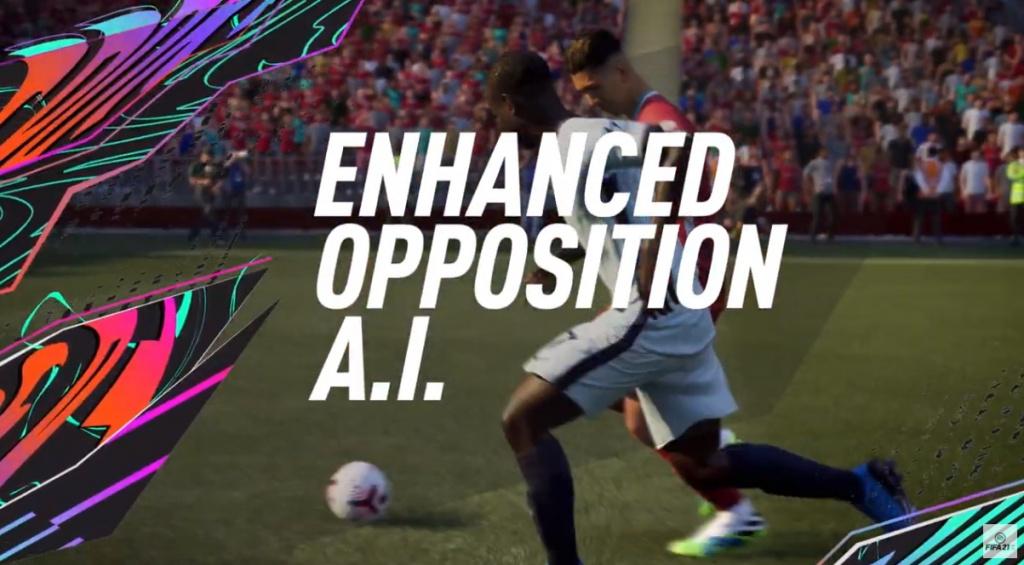 IA améliorée de FIFA 21