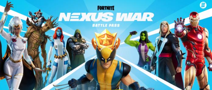 Fortnite 4 Nexus War Battle pass