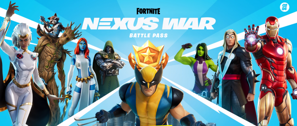 Passe de combat de guerre de Fortnite 4 Nexus